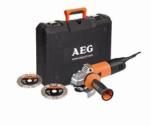 AEG WS 10-125 SK Meuleuse Électrique à fil 1000 W de la marque AEG image 0 produit