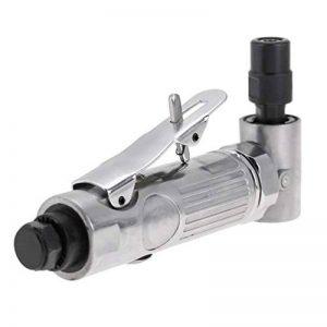 Akozon Mini Meuleuse d'angle Pneumatique Industrielle 90° Meuleuse Droite à Air 2000 tr/min Meuleuse à Découper Outil avec Mandrin de 6mm à 3mm de la marque Akozon image 0 produit