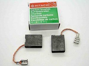 Balais Charbon Hitachi Meuleuse Angle G23 SS2 G23SS2 999089 999061 7mm x 17mm H13 de la marque Faryear image 0 produit