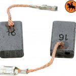 Balais de Charbon pour BOSCH GWS 1400 meuleuse -- 5x10x16mm -- 2.0x3.9x6.3'' -- Avec arrêt automatique de la marque Buildalot image 1 produit