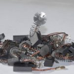 Balais de Charbon pour FEIN WSG 25-230 X meuleuse -- 8x12,5x23mm -- 3.1x4.7x9.1'' -- Avec arrêt automatique de la marque Buildalot image 2 produit