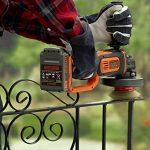 BLACK+DECKER BCG720N-XJ Meuleuse Sans Fil Orange/Noir de la marque Black & Decker image 3 produit