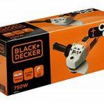 BLACK+DECKER KG115A5-QS Meuleuse 115 mm, 750 W, Orange, Set de 6 Pièces de la marque Black & Decker image 1 produit