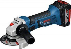 Bosch 060193A30F GWS 18-125 V-Li Meuleuse angulaire sans fil de la marque Bosch image 0 produit