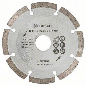 Bosch 2607019474 Disque diamant pour Meuleuse maçonnerie 115 mm de la marque Bosch image 0 produit