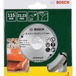 Bosch 2607019474 Disque diamant pour Meuleuse maçonnerie 115 mm de la marque Bosch image 1 produit