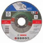 Bosch 2609256332 5 disques à tronçonner à moyeu dÃportà pour MÃtaux Diamètre 115 mm Diamètre d'alÃsage 22,23 Epaisseur 2,5 mm de la marque Bosch image 1 produit