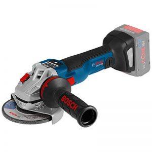 Bosch GWS 18V-150SC Professional 7500rpm 18V Li-Ion de lithium noir, bleu Meuleuse d'angle sans fil–Râpe (18V, Li-Ion de lithium, 6,3Ah, 2,22cm) de la marque Bosch image 0 produit