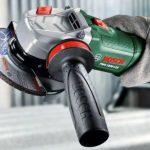 Bosch Meuleuse angulaire compacte PWS 1000-125 de 2,2 kg, à diamètre de 125 mm, avec coffret, capot de protection et poignée anti-vibration 06033A2600 de la marque Bosch image 3 produit