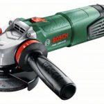 Bosch Meuleuse angulaire compacte PWS 1000-125 de 2,2 kg, à diamètre de 125 mm, avec coffret, capot de protection et poignée anti-vibration 06033A2600 de la marque Bosch image 1 produit