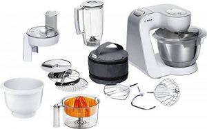 Bosch MUM58243 Robot de Cuisine 1000 W, 3,9 L, Blanc/Argent de la marque Bosch-Electroménager image 0 produit