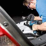 Bosch Professional 060117B500 GSB 19-2 RE Perceuse à percussion, 850 W Coffret, Bleu de la marque Bosch-Professional image 3 produit