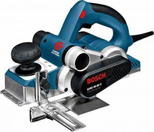 Bosch Professional 060159A760 GHO 40-82 C Rabot, 850 W, Bleu de la marque Bosch-Professional image 0 produit