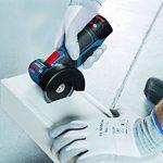 Bosch Professional 06019F2002 Meuleuse Angulaire sans-fil GWS 12V-76 2x2,5 Ah L-BOXX, 10.8 V, Bleu de la marque Bosch Professional image 3 produit