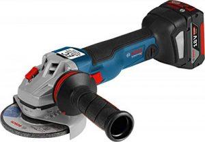 Bosch Professional meuleuse angulaire GWS 18V-10 C (2 batteries, 18 V, Ø de disque 125 mm, dans L-BOXX) de la marque Bosch Professional image 0 produit