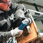 Bosch Professional Meuleuse Angulaire GWS 7-125 (Poignée Supplémentaire, Flasque de Serrage, Ecrou de Serrage, Capot de Protection, Clé à Ergots, Carton, 720 W, Ø de Meule 125 Mm) de la marque Bosch-Professional image 2 produit