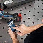 Bosch Professional Meuleuse d'angle GWS 18 V-10 PSC (sans batterie, 18 V, module de connexion, diamètre du disque 125 mm, dans coffret L-Boxx) de la marque Bosch Professional image 1 produit