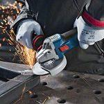 Bosch Professional Meuleuse d'angle GWS 18 V-10 PSC (sans batterie, 18 V, module de connexion, diamètre du disque 125 mm, dans coffret L-Boxx) de la marque Bosch Professional image 2 produit