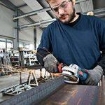 Bosch Professional Meuleuse d'angle GWS 18 V-10 PSC (sans batterie, 18 V, module de connexion, diamètre du disque 125 mm, dans coffret L-Boxx) de la marque Bosch Professional image 3 produit
