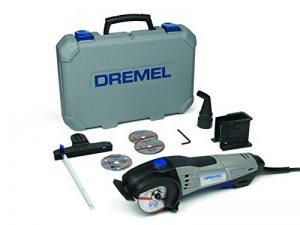 DREMEL DSM20-3/4 Scie Compacte (710 W), 3 Adaptations, 4 Accessoires de la marque Dremel image 0 produit