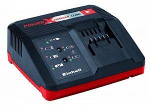 """Einhell Chargeur rapide Power X-Change (Alimentation : 200 à€"""" 260 V ~ 50-60 Hz, Tension de sortie : 10 , 21 V, Temps de charge selon batterie, Témoin de niveau de charge, Equipé pour être fixé au mur) de la marque Einhell image 0 produit"""