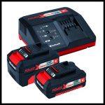 Einhell Kit outils TE-TK 18 Li Kit (CD+AG) - Système Power X-Change (18 V, Profondeur de coupe : 28 mm) VERSION KIT LIVRE AVEC 1 BATTERIE 1.5 + 3,0 Ah et 1 CHARGEUR RAPIDE de la marque Einhell image 1 produit