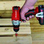 Einhell Kit outils TE-TK 18 Li Kit (CD+AG) - Système Power X-Change (18 V, Profondeur de coupe : 28 mm) VERSION KIT LIVRE AVEC 1 BATTERIE 1.5 + 3,0 Ah et 1 CHARGEUR RAPIDE de la marque Einhell image 3 produit