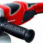 Einhell Meuleuse d'angle TE-AG 230/2000 (2000 W, Capot de protection, Poignée ergonomique, Livré avec poignée supplémentaire ) de la marque Einhell image 1 produit