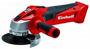 Einhell Ponceuse angulaire manuelle sans fil, rouge, TC-AG 18/115 Li-Solo 0W, 18V de la marque Einhell image 0 produit