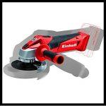 Einhell Ponceuse angulaire manuelle sans fil, rouge, TC-AG 18/115 Li-Solo 0W, 18V de la marque Einhell image 1 produit