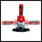 Einhell Ponceuse angulaire manuelle sans fil, rouge, TC-AG 18/115 Li-Solo 0W, 18V de la marque Einhell image 2 produit