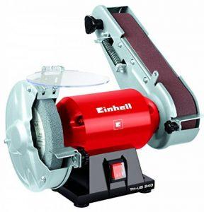 Einhell Tourêt de ponçage TH-US 240 (240 W, Dimensions de la bande de ponçage : 50 x 686 mm, 4 patins en caoutchou anti-vibrations) de la marque Einhell image 0 produit