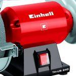 Einhell Tourêt de ponçage TH-US 240 (240 W, Dimensions de la bande de ponçage : 50 x 686 mm, 4 patins en caoutchou anti-vibrations) de la marque Einhell image 4 produit