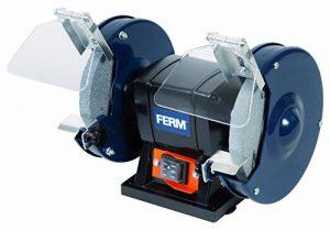 FERM Touret à meuler 150W 150mm - Incl. 2 pierres à aiguiser de la marque Ferm image 0 produit