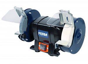 FERM Touret à meuler 250W 150mm - Incl. 2 pierres à aiguiser de la marque Ferm image 0 produit