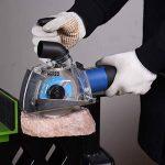 HERZO Capot de protection Avec rail de guidage-115/125 mm de la marque HERZO image 2 produit