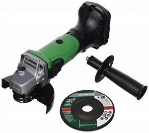 Hitachi-G18DLW4 minimum batterie 18 V Meuleuse 115 mm pression sans piles de la marque Hitachi image 0 produit