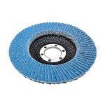 Lot de 10compartiments Disque 115mm Grain 40compartiments Disque abrasif ponçage Mop Assiettes Inox Disque à lamelles de la marque FD-Workstuff® image 1 produit