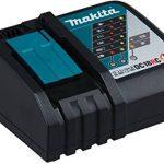 Makita DGA506RTJ Meuleuse d'angle 125 mm avec 2 batteries en coffret Makpac 18 V 5 Ah de la marque Makita image 4 produit