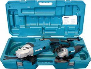 Makita DK0052G Coffret de 2 meuleuses angulaires 230/125mm de la marque Makita image 0 produit