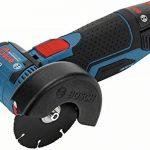 Meuleuse d'angle avec Batterie GWS 12V-76 (Batterie 2x 3,0Ah, 12V, Ø de Perçage:10mm, dans Coffret L-Boxx) de la marque Bosch Professional image 1 produit