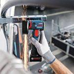 Meuleuse d'angle avec Batterie GWS 12V-76 (Batterie 2x 3,0Ah, 12V, Ø de Perçage:10mm, dans Coffret L-Boxx) de la marque Bosch Professional image 3 produit