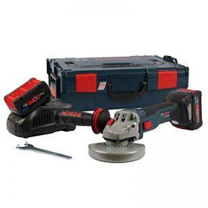Meuleuse sans fil 18V 2 x 7,0 Ah ProCore en coffret L-BOXX GWS 18 V-125 SC BOSCH 06019G3406 de la marque Bosch image 0 produit