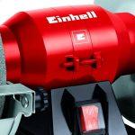 Touret à meuler TH-BG 150 (150 W, 4 patins en caoutchouc anti-vibrations, Livré avec meule de dégrossissage et meule de ponçage fin) de la marque Einhell image 2 produit