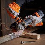 VonHaus Meuleuse d'angle Max 20 V — Disqueuse ergonomique avec poignée antivibrations — Disque, batterie, chargeur et sac à outils inclus de la marque Vonhaus image 2 produit