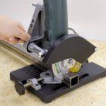 Wolfcraft 5019000 Support de tronçonnage Pour meuleuse d'angle à une main 115/125 mm de la marque Wolfcraft image 1 produit
