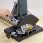 Wolfcraft 5019000 Support de tronçonnage Pour meuleuse d'angle à une main 115/125 mm de la marque Wolfcraft image 2 produit